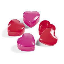 heart shaped candy mini heartshaped containers 2 dz home kitchen