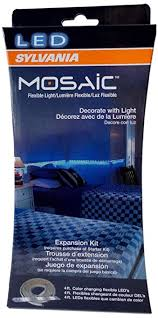 sylvania led lights rgb white mosaic expansion