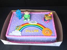 great design work on my daughter u0027s baby tv themed birthday cake