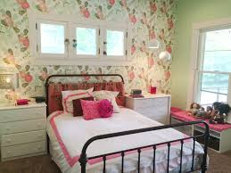 Ikea Hack Bench Watercolor Peony Wallpaper From Anthropologie Lamp Base And Shade