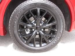 jeep durango blacked out 2015 dodge durango r t blacktop awd savage on wheels