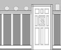Mdf Cornice Popular Recessed Wall Panel Wainscoting Accent Wall Kit Cornice