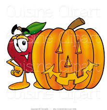 happy halloween free clip art apples and pumpkin clipart free apples and pumpkin clipart