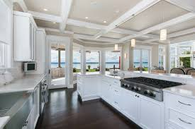 coastal kitchen ideas modern coastal kitchen design for living on fox island traditional