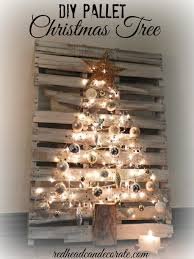 diy pallet tree by can decorate