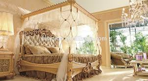 italian canopy bed royal place golden color wooden four poster canopy bed italian