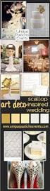 art deco scalloped inspired wedding unique pastiche events
