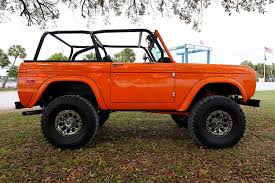 ford bronco jeep 1972 early ford bronco custom