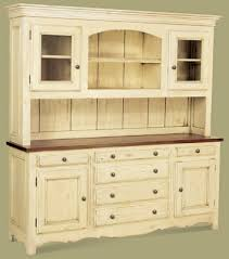 Country Buffet And Hutch Kitchen Alluring Kitchen Hutch For Sale White Used China And