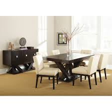 Espresso Dining Room Furniture by Steve Silver Tf500tn Tiffany Dining Table In Dark Espresso Cherry