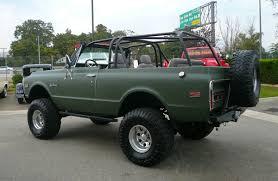 Classic Chevrolet 4x4 Trucks - 1972 chevrolet k5 blazer 4x4