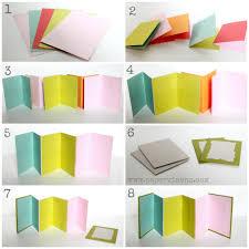 accordion photo album accordion mini album tutorial echo park papervine