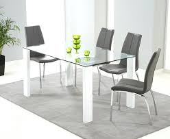 Black Gloss Dining Table And 6 Chairs Oval Glass Dining Table 6 Chairs Oval Glass Dining Table And