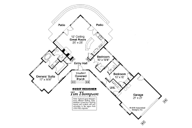One Story House Plans With Two Master Suites Home Plans House Plans For Ranch Homes Ranch Floor Plans With