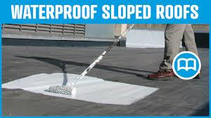 Is Exterior Paint Waterproof - waterproof roof prevent water infiltration through roof cracks
