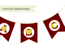 Happy Birthday Flags Iron Man Banner Magical Printable
