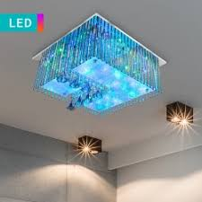 led shower head with colour change feature