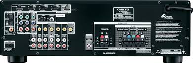 home theater systems with hdmi inputs outputs onkyo u0027s 2012 midrange receiver line goes up to 8 hdmi inputs cnet