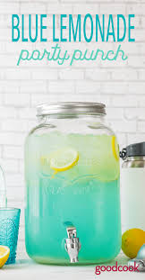 blue raspberry margarita blue lemonade party punch good cook good cook