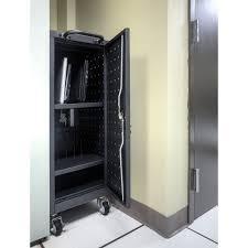 Charging Shelf Lltp12 B 12 Laptop Tablet Charging Cart
