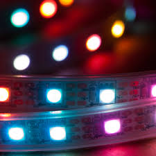 Led Strip Tail Lights by Nooelec 1m Addressable 24 Bit Rgb Led Strip Ip68 Waterproof