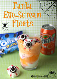 Halloween Scary Party Ideas by Scary Fun Fanta Eye Scream Floats