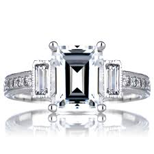 engagement rings sale emerald cut diamond engagement rings for sale trusty decor