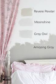 Blue Gray Paint For Bedroom - 8 steps to choosing the perfect paint color bless u0027er house