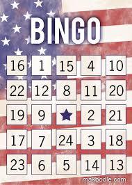 premium bingo template for download free