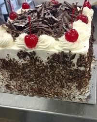 masking cuisine black forest cake masking a square cake is a baking