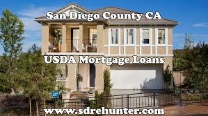 san diego usda mortgage loans 2017 update