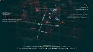Path Subway Map by The Division Player Charts A Useful Dark Zone Farming Path