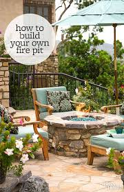 Diy Fire Pit Patio by How To Build A Fire Pit