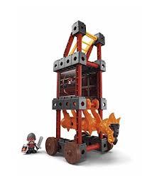 siege fisher price amazon com fisher price trio siege tower toys