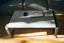 Wohnzimmertisch Diy Ghostbastlers U2013 Tischplatte Aus Beton