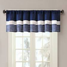 Navy Window Curtains Buy Navy Blue Curtains Window Treatments From Bed Bath Beyond