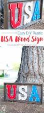best 25 patriotic decorations ideas on pinterest fourth of july i love patriotic decorations for summer you can make this easy diy rustic usa wood sign for your of july decor in just a few hours