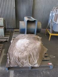 blue wizard extractor dust extraction fan auction 0074 7007810