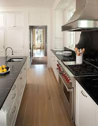 white kitchen cabinets with slate countertops soapstone backsplash design ideas