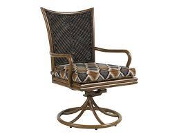 Swivel Dining Chair Island Estate Lanai Swivel Rocker Dining Chair Lexington Home Brands