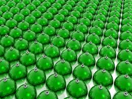 many green balls stock photo colourbox