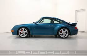 ruf porsche 993 1996 993 twin turbo turquoise blue 23 687 miles sloan cars