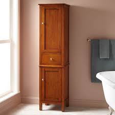 bathroom linen storage cabinet luxurious bathroom best linen storage cabinet oak cabinets of wood
