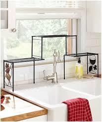 over sink shelf kitchen
