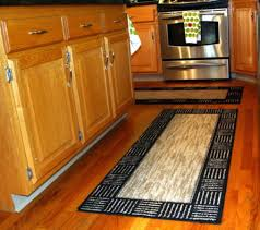 kitchen naturally fabulous flower patterned kitchen runner rug