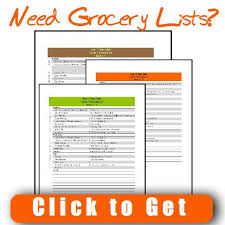 17 day diet cycle 1 grocery list south beach diet at restaurants