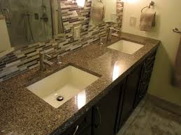granite double vanity tops for modern bathrooms howiezine