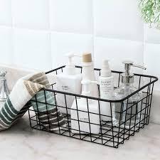 aliexpress com buy bathroom toiletries organizer wire magazine