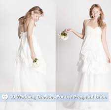 Pregnancy Wedding Dresses The Best Maternity Wedding Gowns For The Pregnant Bride