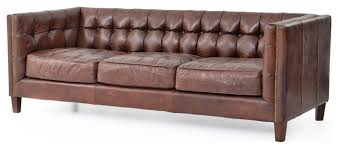 modern tufted leather sofa tufted modern sofa christopher rustic lodge tufted straight back